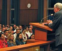 Elder Ballard blesses the YSA in Frankfurt Germany