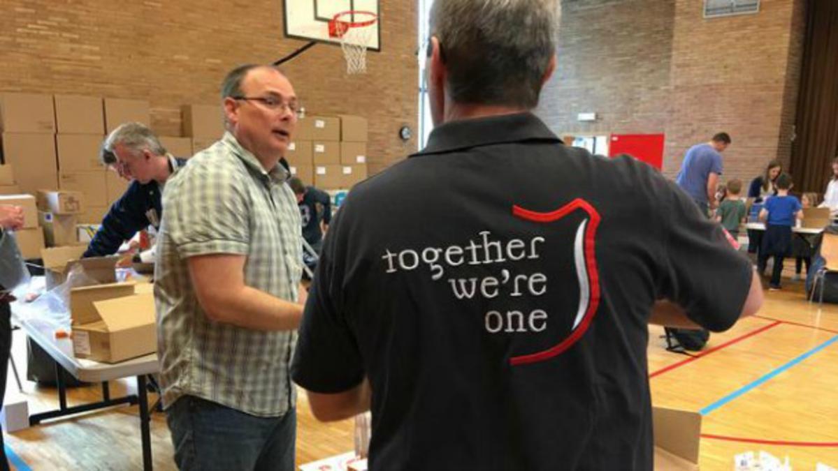 Вриселски мормони сарађују са Војском спаса у помагању избеглицама