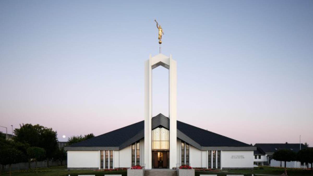 Поново посвећен Храм Фрајберг Њемачка