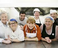 Trabajadores Cocina Económica de Logroño