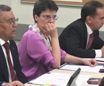 Sergio Flores, Cristina Villar y Alberto Fernández-Calvillo