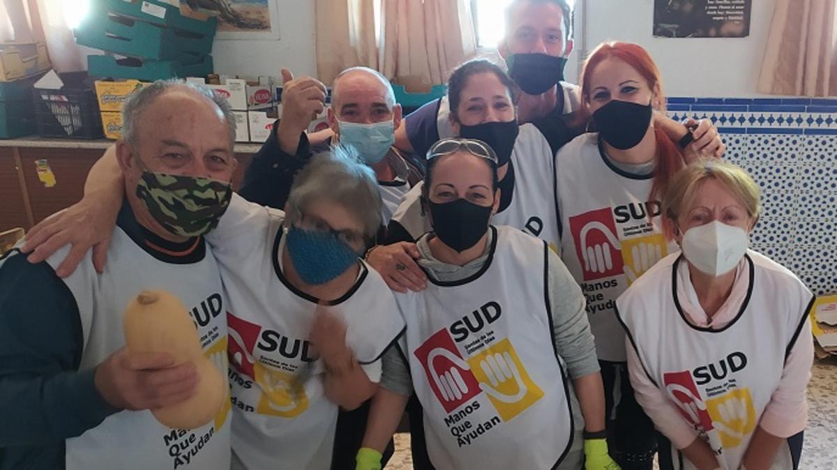 Voluntarios de Manos que Ayudan en Granada
