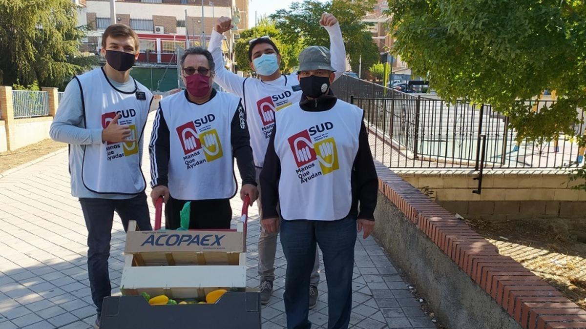 Voluntarios de Manos que Ayudan
