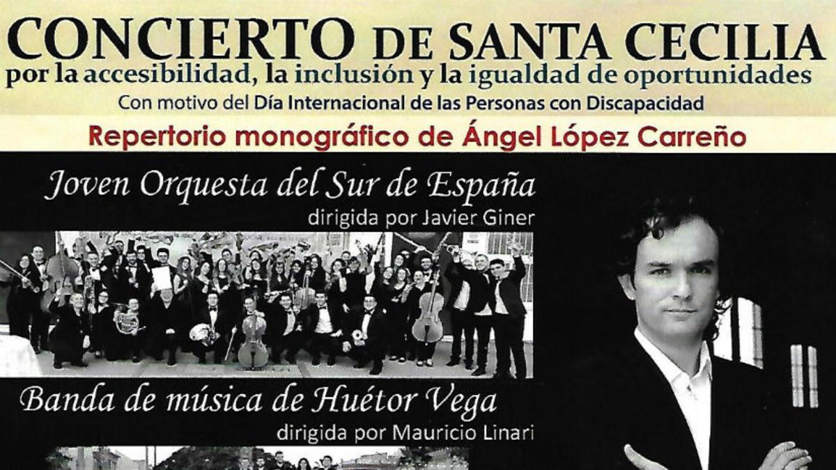 Foto cartel concierto granada
