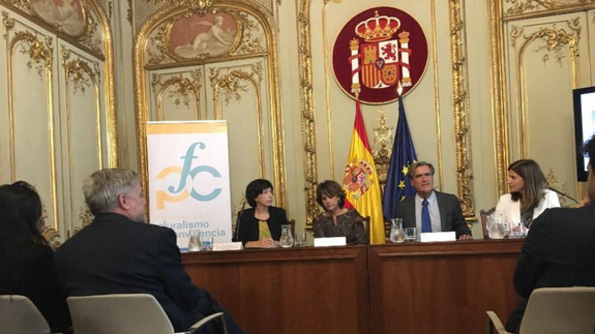Acto de celebración del 15º aniversario de la creación de la Fundación Pluralismo y Convivencia del Ministerio de Justicia.