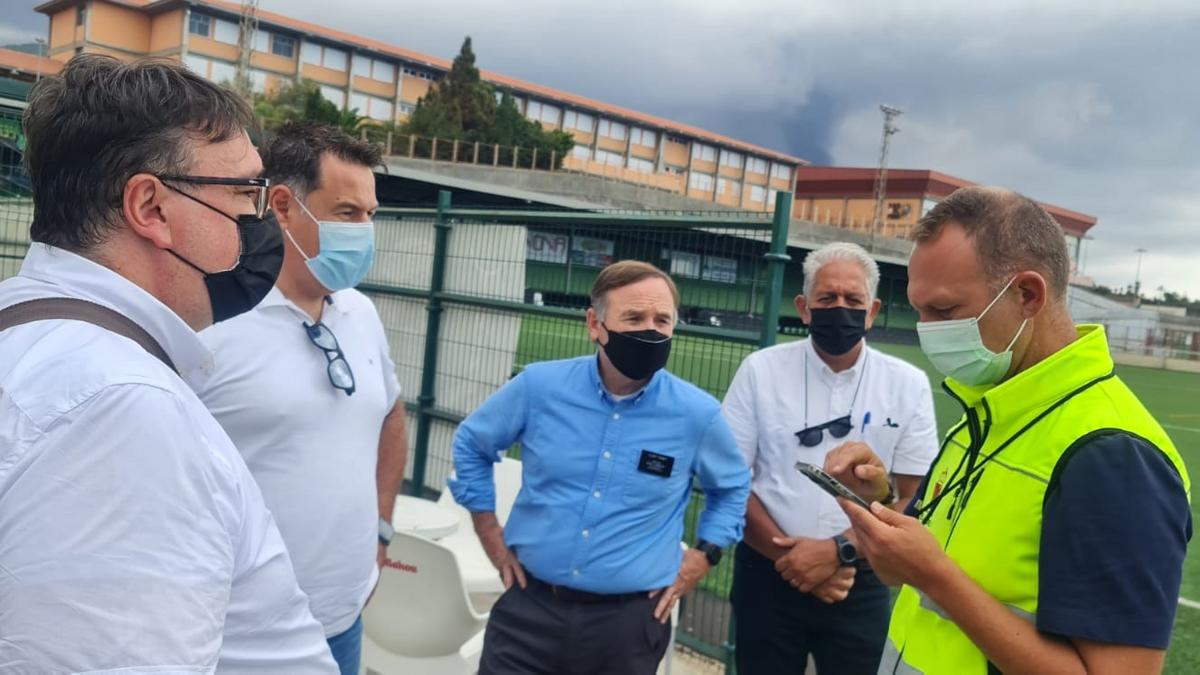 Reunión entre los líderes de Bienestar y Autosuficiencia y las autoridades municipales de La Palma