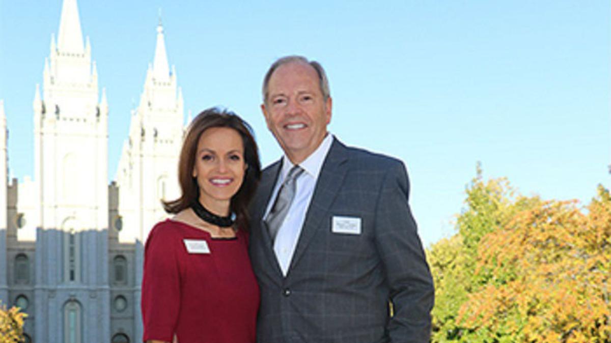 Presidente Gardner y su esposa