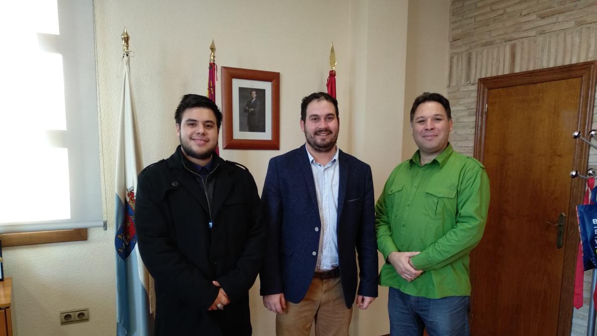Andres Rodríguez, Mario Cervera, Mauricio Rodríguez