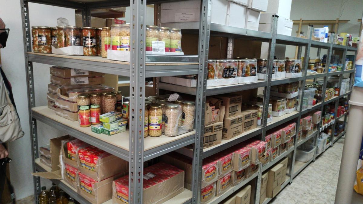 Área donde almacenan los alimentos que luego serán utilizados para elaborar las comidas.