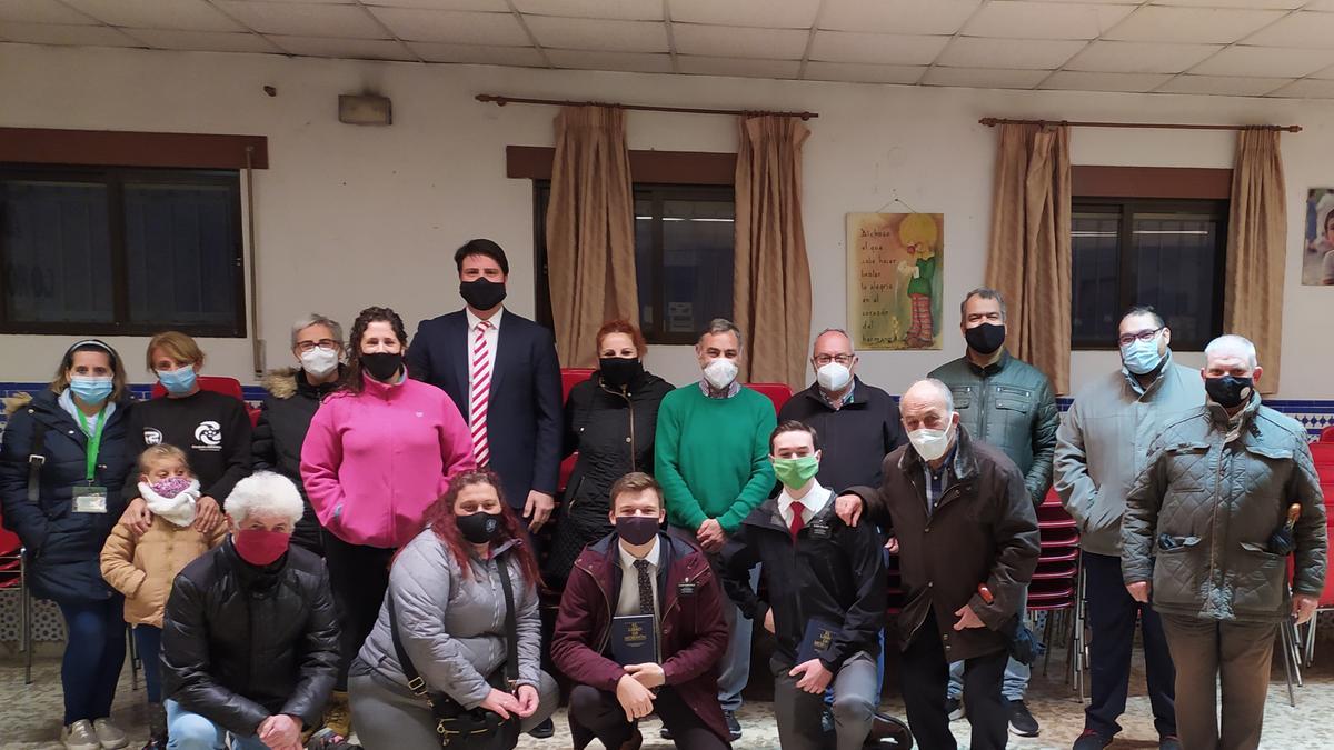 Voluntarios de la Estaca de Granada