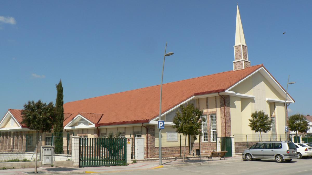 La capilla de la Iglesia en Azuqueca