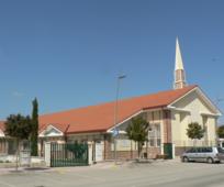 La capilla de la Iglesia en Azuqueca de Henares.