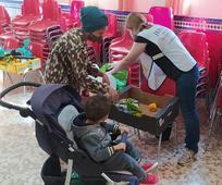 Grupo de voluntarios de Manos que Ayudan
