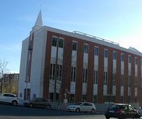 Fachada del nuevo centro de reuniones de Tarragona