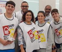 Voluntarios en el Banco de Alimentos de Las Palmas