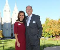Presidente y hermana Gardner