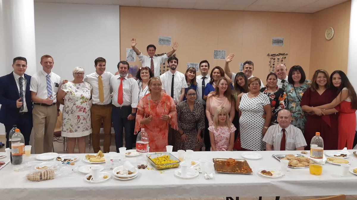 Participantes de la celebración