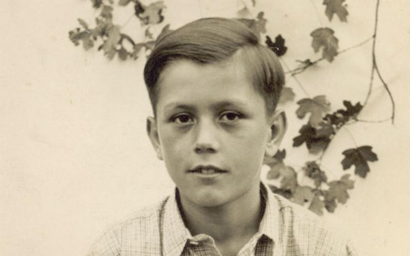 childhood photography of Elder Uchtdorf