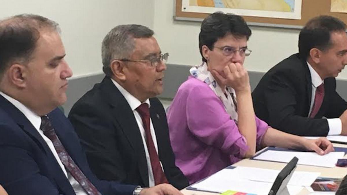 Elder Franco, Sergio Flores, Cristina Villar y ALberto Fernandez