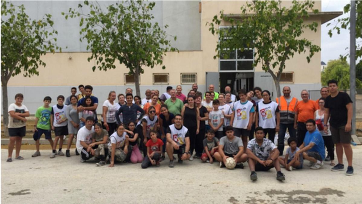 Voluntarios de la Iglesia de Jesucristo de la Estaca de Elche