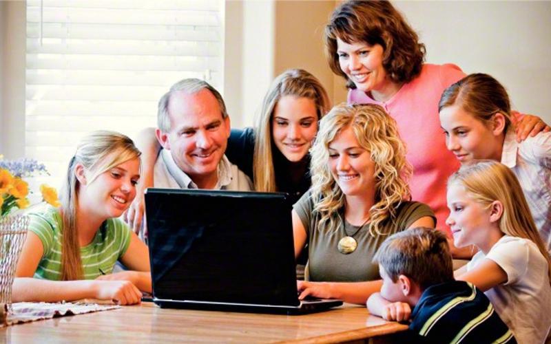 Familj_dator