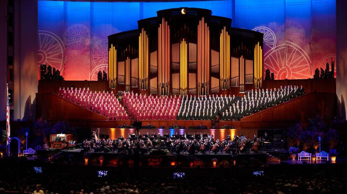 Choeur du Tabernacle dans le centre de conférences