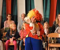 Für eine Stunde verwandelte sich der Kultursaal des Gemeindehauses in Kreuzlingen in eine Zirkusmanege.