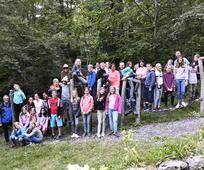In Amden, hoch über dem Walensee gelegen, fand für ca. 30 Jugendliche im Alter von 11 – 13 Jahren ihr langersehntes  JD / JM  Sommerlager vom  31. Juli – 3. August 2019 statt.