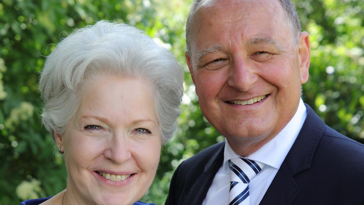 Esther + Louis Weidmann, neues Präsidentenpaar im Schweizer Tempel
