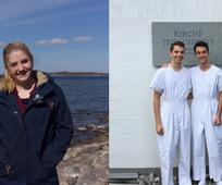 Alexandra Calame als Missionarin in Dänemark