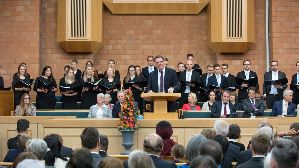 Der Chor3 an der Pfahlkonferenz