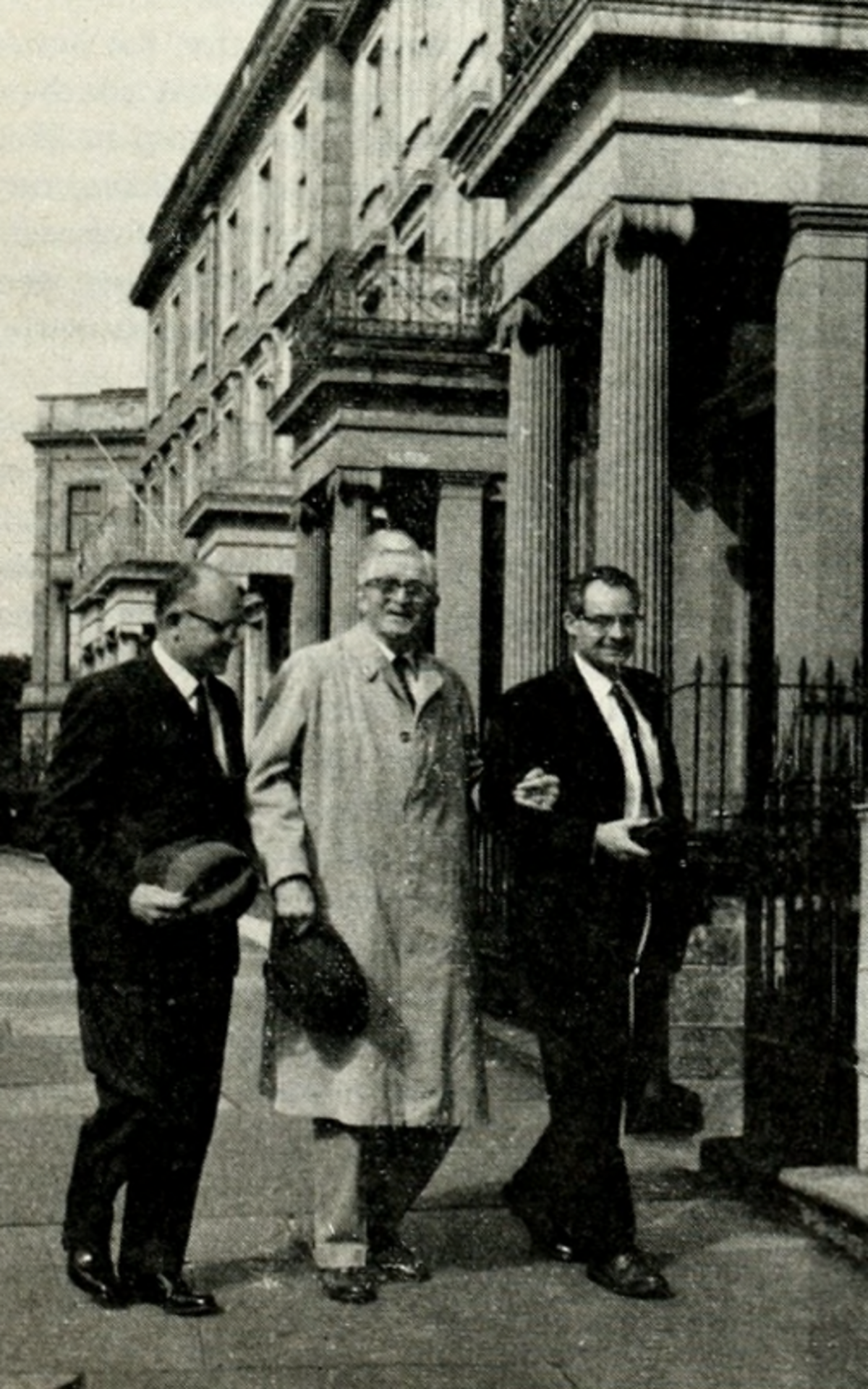 President McKay in Edinburgh