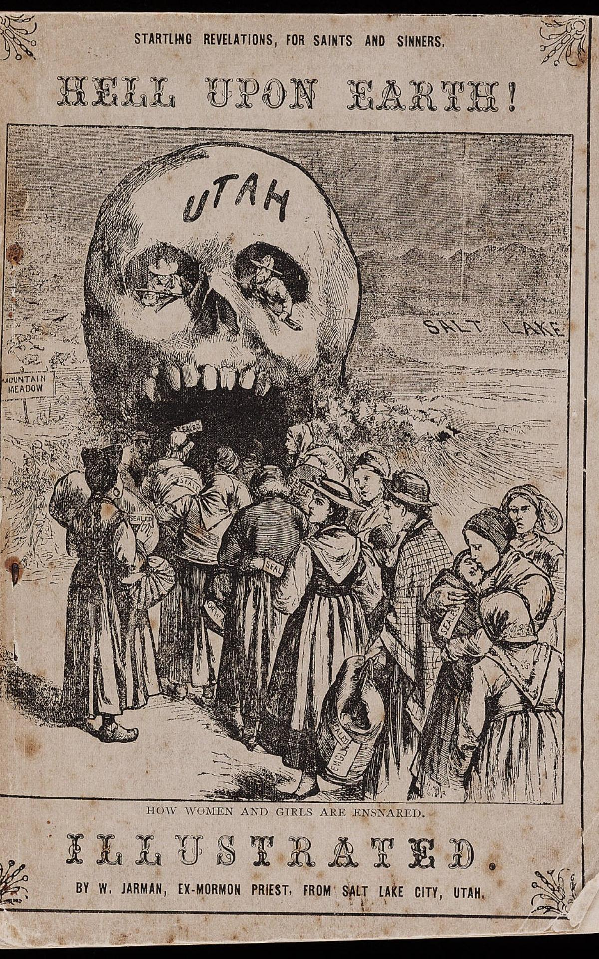 The cover of one of William Jarman's publications