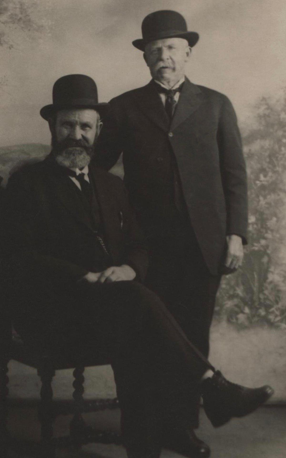 Elder Finlayson (left) and Elder Ingles (right)