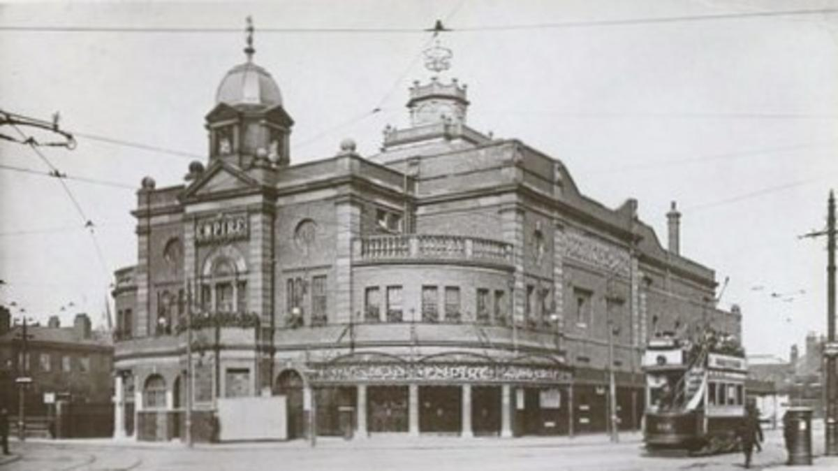 Manchester Hippodrome, Courtesy of Mike Blakemore