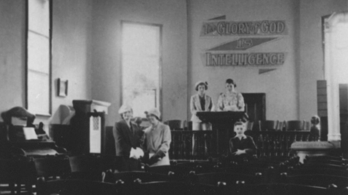 Sunderland Branch Chapel Inside