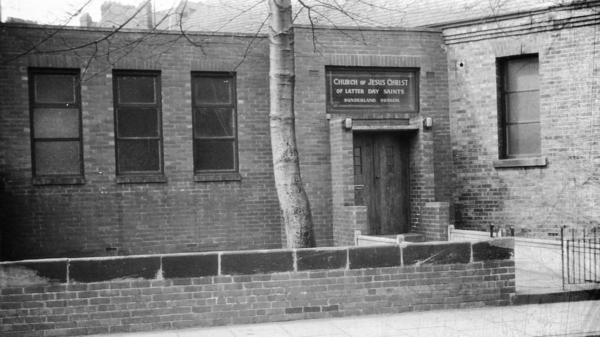 Sunderland Branch Chapel Entrance