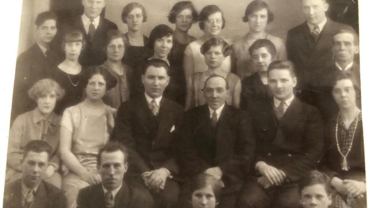 This MIA group photograph was taken in 1926. My mother Dorothy is on the far left with the straight fringe.