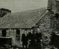 The cottage where David McKay, father of President David O McKay, was born in Scotland.