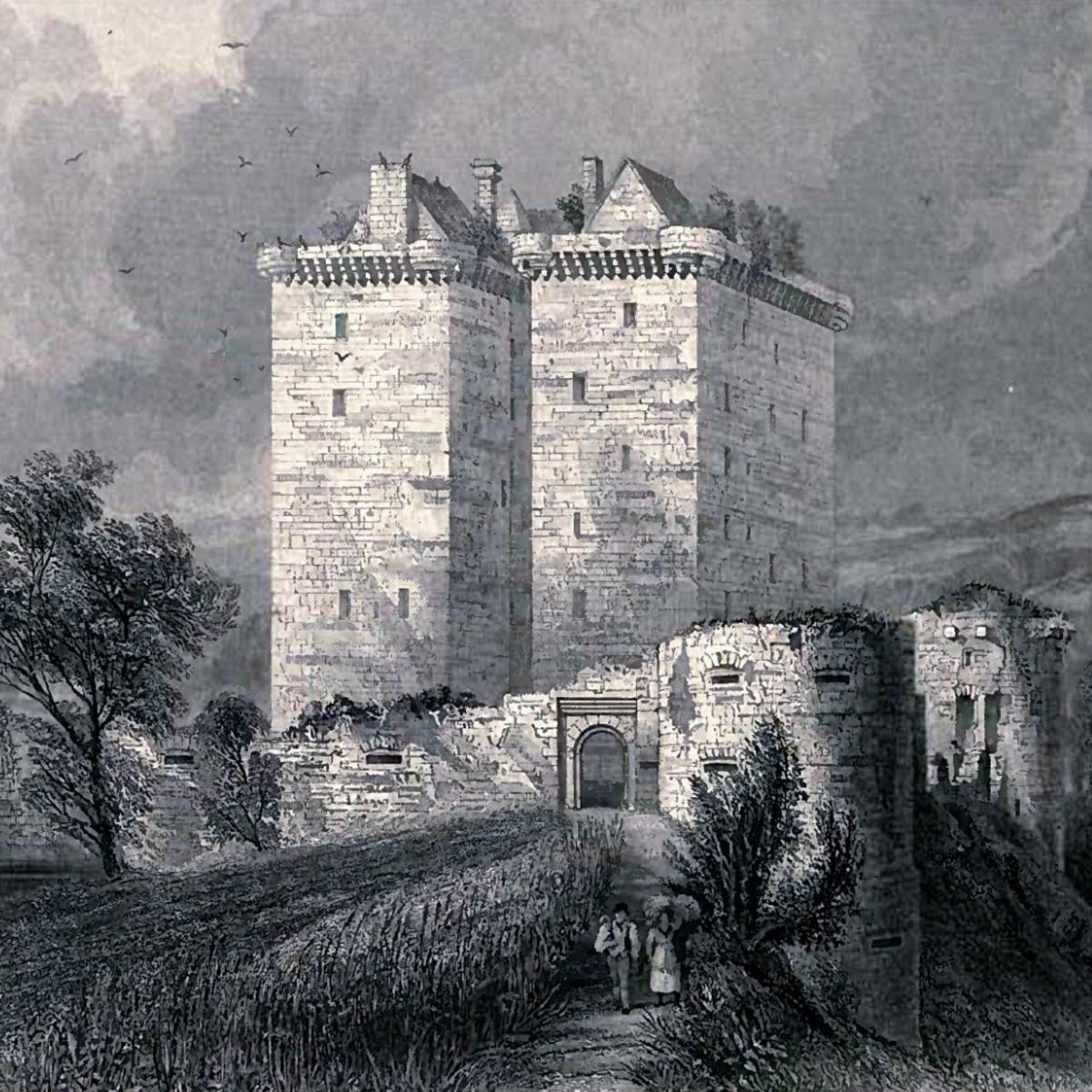 Borthwick Castle, Midlothian, Scotland