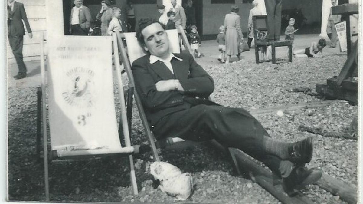 Larry Hamilton on Brighton Beach