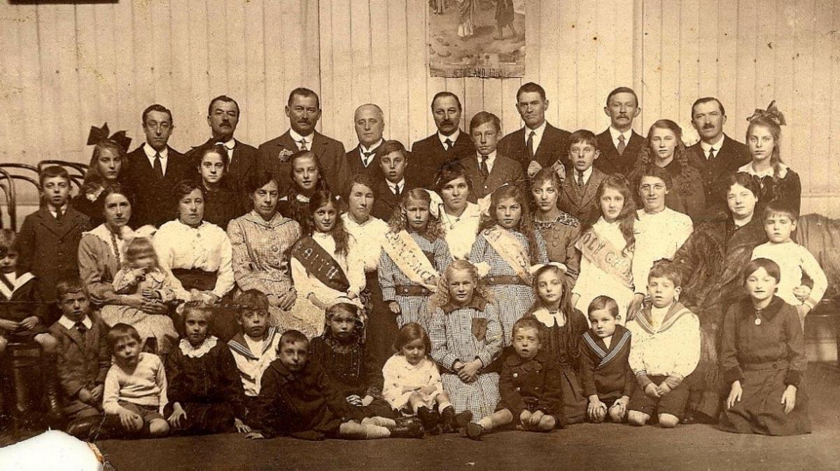 Dublin Branch Sunday School, 1917
