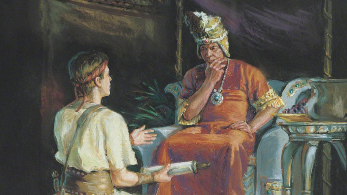 Ammon and Lamoni