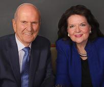 President Nelson and his wife Wendy