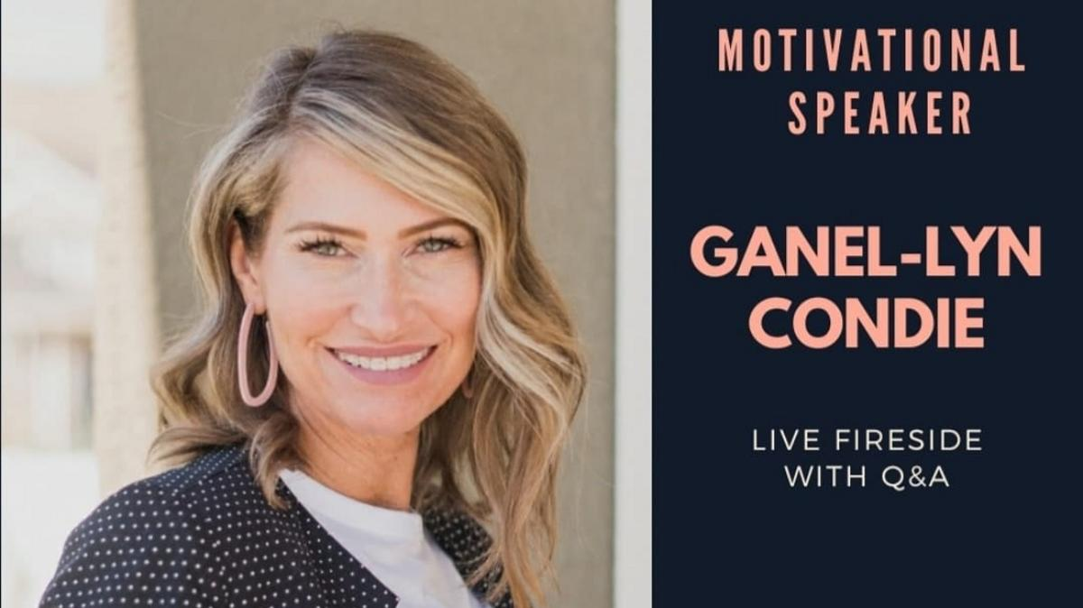 Fireside with Ganel-Lyn Condie - 15 Nov 2020 at 7pm