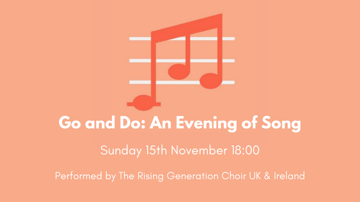 Go and Do: An Evening of Song