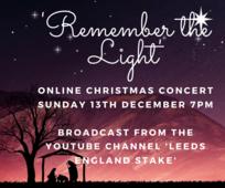 Leeds Stake Christmas Concert at 7pm