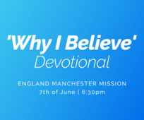 Manchester Mission Devotional Broadcast