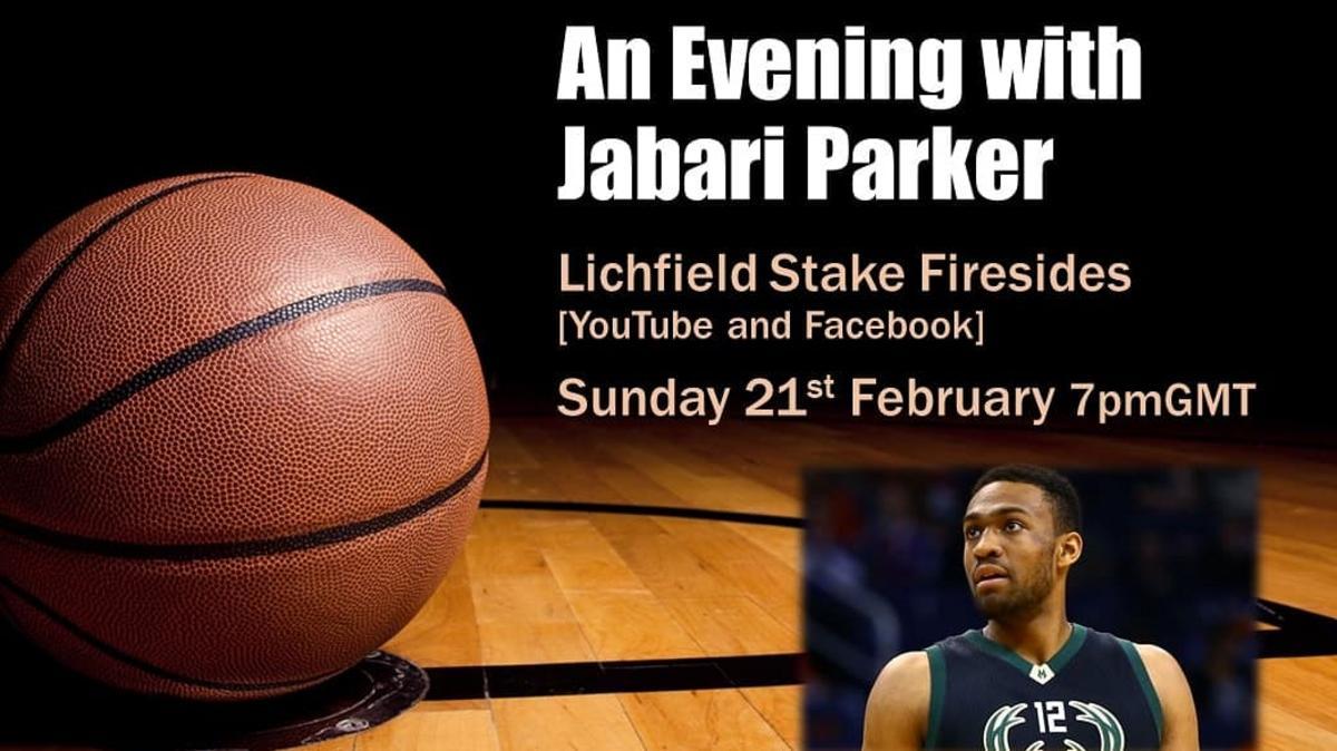 An evening with Jabari Parker -  21 Feb 2021 at 7pm