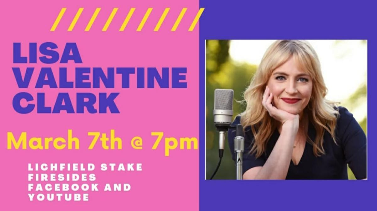 An evening with Lisa Valentine Clark - 7 Mar 2021 at 7pm